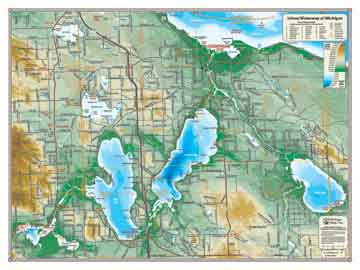 Specialty Wall Maps By Michigan Maps Inc